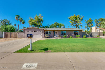 Scottsdale Single Family Home For Sale: 5230 E Hearn Road