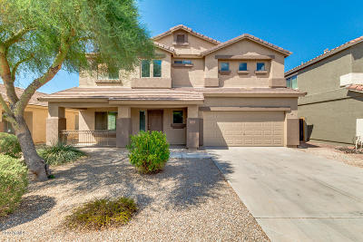 Maricopa Single Family Home For Sale: 36436 W Costa Blanca Drive