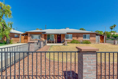Phoenix Single Family Home For Sale: 704 W Marshall Avenue