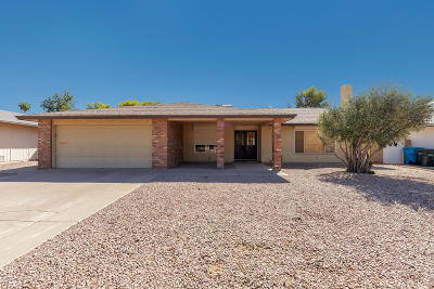 Phoenix Single Family Home For Sale: 11607 S Half Moon Drive