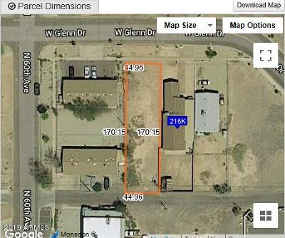 Glendale Residential Lots & Land For Sale: 5955 W Glenn Drive