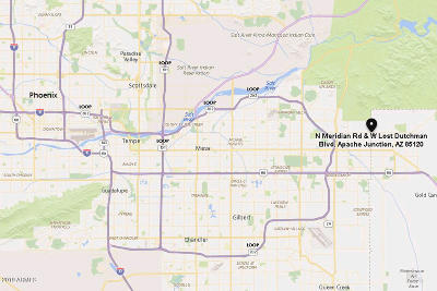 Apache Junction Residential Lots & Land For Sale: W Lost Dutchman Boulevard