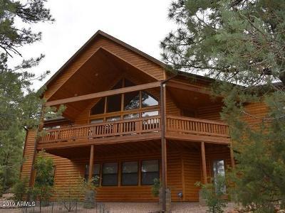 Show Low Single Family Home For Sale: 1431 E Pine Oaks Drive