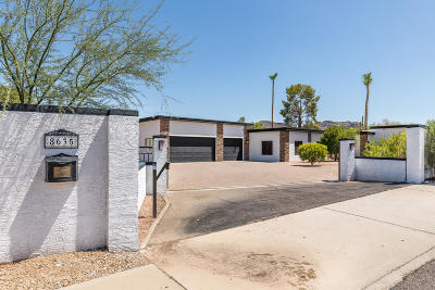 Paradise Valley Single Family Home For Sale: 8635 N Tatum Boulevard