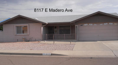 Mesa Single Family Home For Sale: 8117 E Madero Avenue