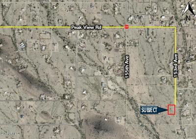 Surprise Residential Lots & Land For Sale: 15319 W Desert Vista Trail