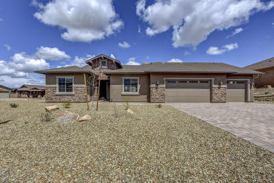 Prescott Single Family Home For Sale: 5216 Climbing Rock Trail