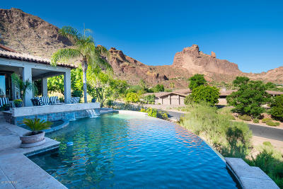 Paradise Valley Single Family Home For Sale: 5555 E Palo Verde Drive