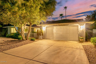 Scottsdale Single Family Home UCB (Under Contract-Backups): 5025 E Blanche Drive
