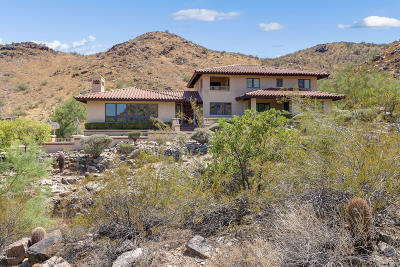 Paradise Valley Single Family Home For Sale: 8151 N Charles Drive
