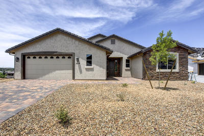 Prescott AZ Single Family Home For Sale: $497,000
