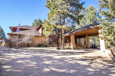 Flagstaff Single Family Home For Sale: 2007 N Starling Way