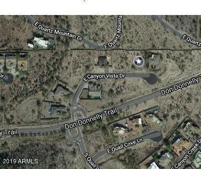 Gold Canyon Residential Lots & Land For Sale: 8890 E Canyon Vista Drive