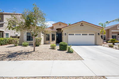 Goodyear Single Family Home UCB (Under Contract-Backups): 16815 W Toronto Way