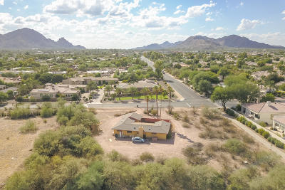 Scottsdale Single Family Home UCB (Under Contract-Backups): 6445 N Cattle Track Road