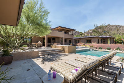 Paradise Valley Single Family Home For Sale: 7307 N Black Rock Trail
