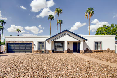 Scottsdale Single Family Home UCB (Under Contract-Backups): 6828 E Ludlow Drive