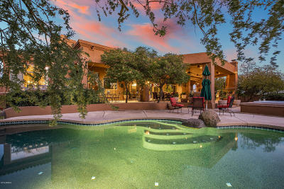 Scottsdale Single Family Home For Sale: 25802 N Chisum Trail