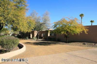 Paradise Valley Single Family Home For Sale: 8809 N Via La Serena Lane
