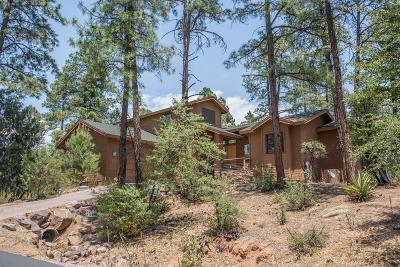 Chaparral Pines Single Family Home For Sale: 2406 E Scarlet Bugler Circle