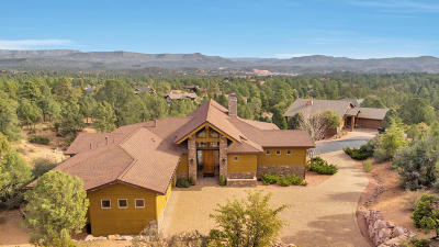 Chaparral Pines Single Family Home For Sale: 2007 E Feather Plume Lane