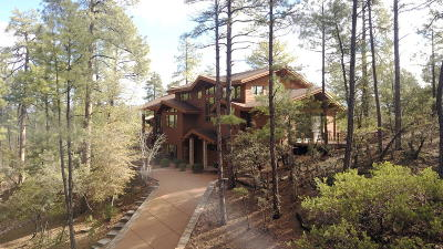 Payson AZ Single Family Home For Sale: $650,000