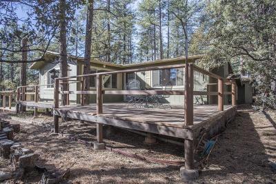 Pine AZ Single Family Home For Sale: $232,000
