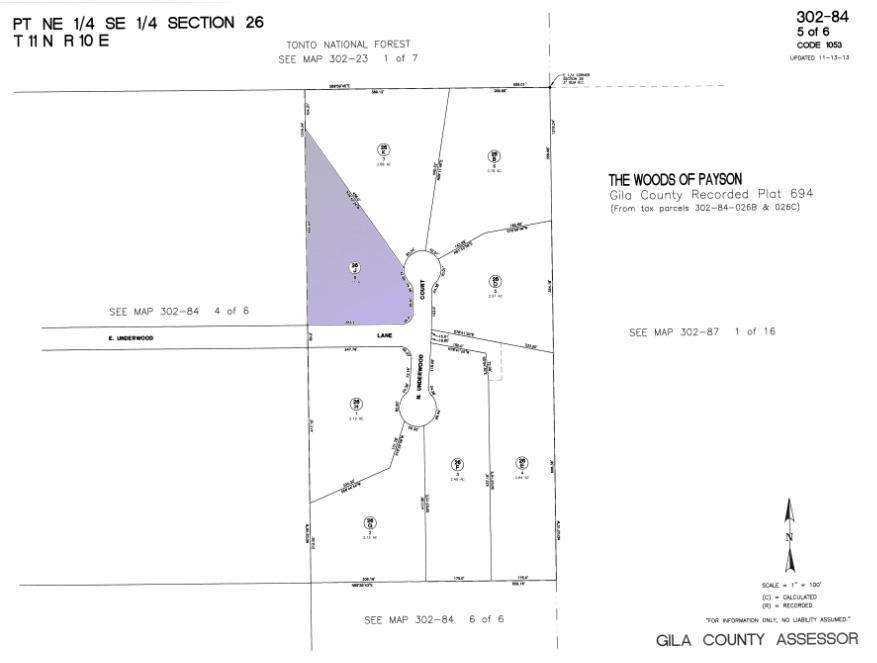 2.07 acres in Payson for $139,900 on