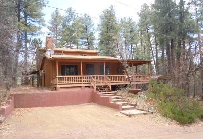 Pine Single Family Home For Sale: 6750 W Mogollon Vista