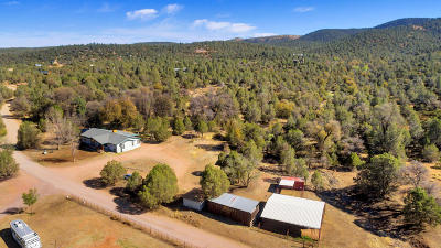 Payson Single Family Home For Sale: 8079 W Gibson Ranch Road