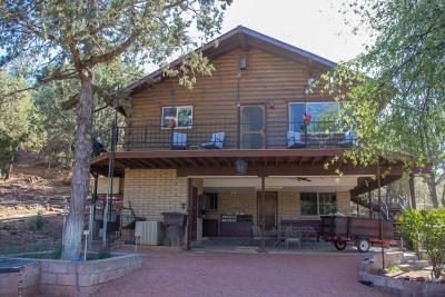 Payson Single Family Home For Sale: 159 E El Camino Del Rey