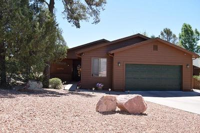 Payson Single Family Home For Sale: 2023 N Verde Circle