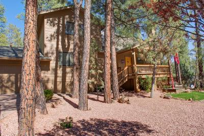 Pine Single Family Home For Sale: 3743 W Whispering Pines Road