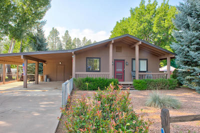 Strawberry Single Family Home For Sale: 9019 W Pinon Ln