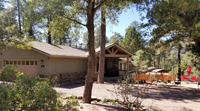 Pine Single Family Home For Sale: 5657 Manzanita Trail