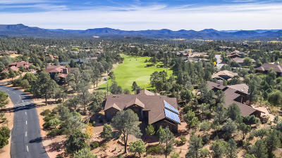 Chaparral Pines Single Family Home For Sale: 2200 E Scenic Drive