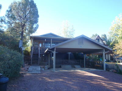 Payson Single Family Home For Sale: 815 W Rim View Road