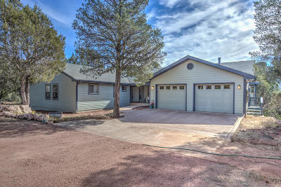 Payson Single Family Home For Sale: 1953 N Gibson Peak Place