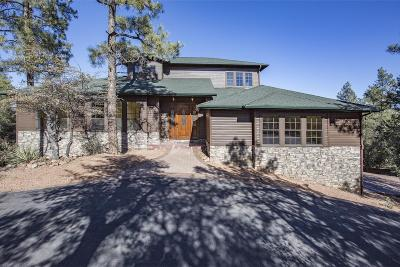 Star Valley Single Family Home For Sale: 128 Saddleback Trail