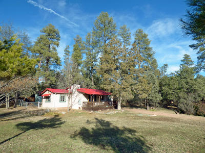 Pine AZ Single Family Home For Sale: $225,000