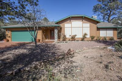 Payson Single Family Home For Sale: 9 E Canyon Drive