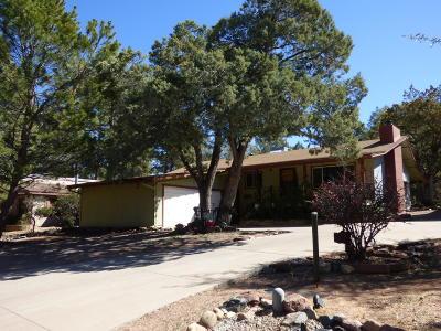 Payson Single Family Home For Sale: 809 N Manzanita Drive