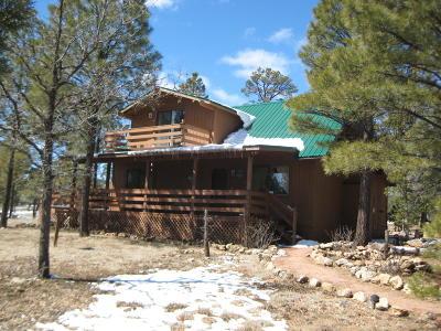 Happy Jack Single Family Home For Sale: 2154 Saddle Blanket Road
