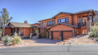 Rim Club, The 1 & 2 Single Family Home For Sale: 3005 E Thunder Point