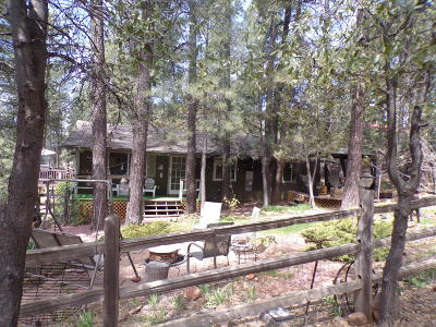 Pine AZ Single Family Home For Sale: $240,000