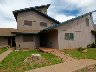 Pine Condo/Townhouse For Sale: 633 W Hardscrabble Mesa Road