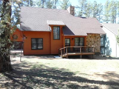 Pine Single Family Home For Sale: 5745 W Bunny Hollow