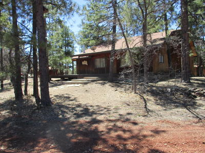 Happy Jack Single Family Home For Sale: 1736 Turkey Mountain Road