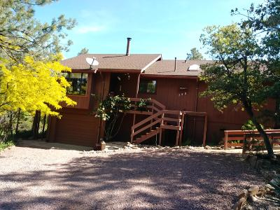 Pine AZ Single Family Home For Sale: $298,000