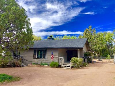 Payson Single Family Home For Sale: 1103 N Gila Drive